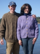 Fundy Fisherman Pullover or Cardigan