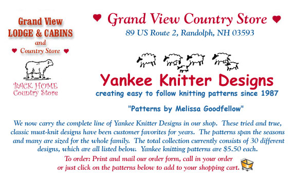 Yankee Knitters Patterns Women and Children's Sweaters & Hats